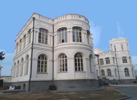 Château viticole en Géorgie