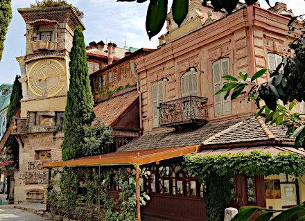 Café Gabriadze et son théâtre aux marionnettes