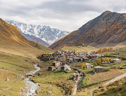 Mesti en Svanétie - Haut Caucase