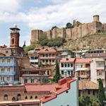 Tbilissi - quartier historique coloré et ses églises