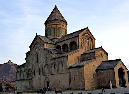 Cathédrale de Svétitskhovéli à Mtskhetia